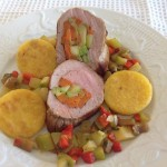 Filet mignon de porc aux petits légumes