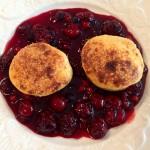 Sablés à la crème et aux fruits rouges - Cuisine à domicile La Monlassière
