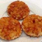 Tartelettes aux pommes - Cuisine à domicile La Monlassière